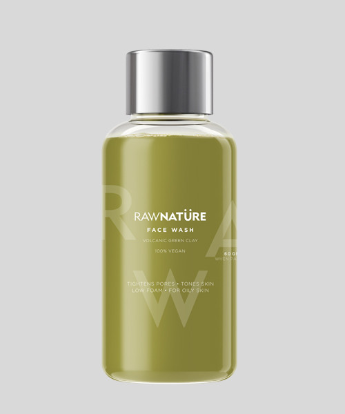 Volcanic_Green_Clay_Face_Wash--Raw Nature -2370