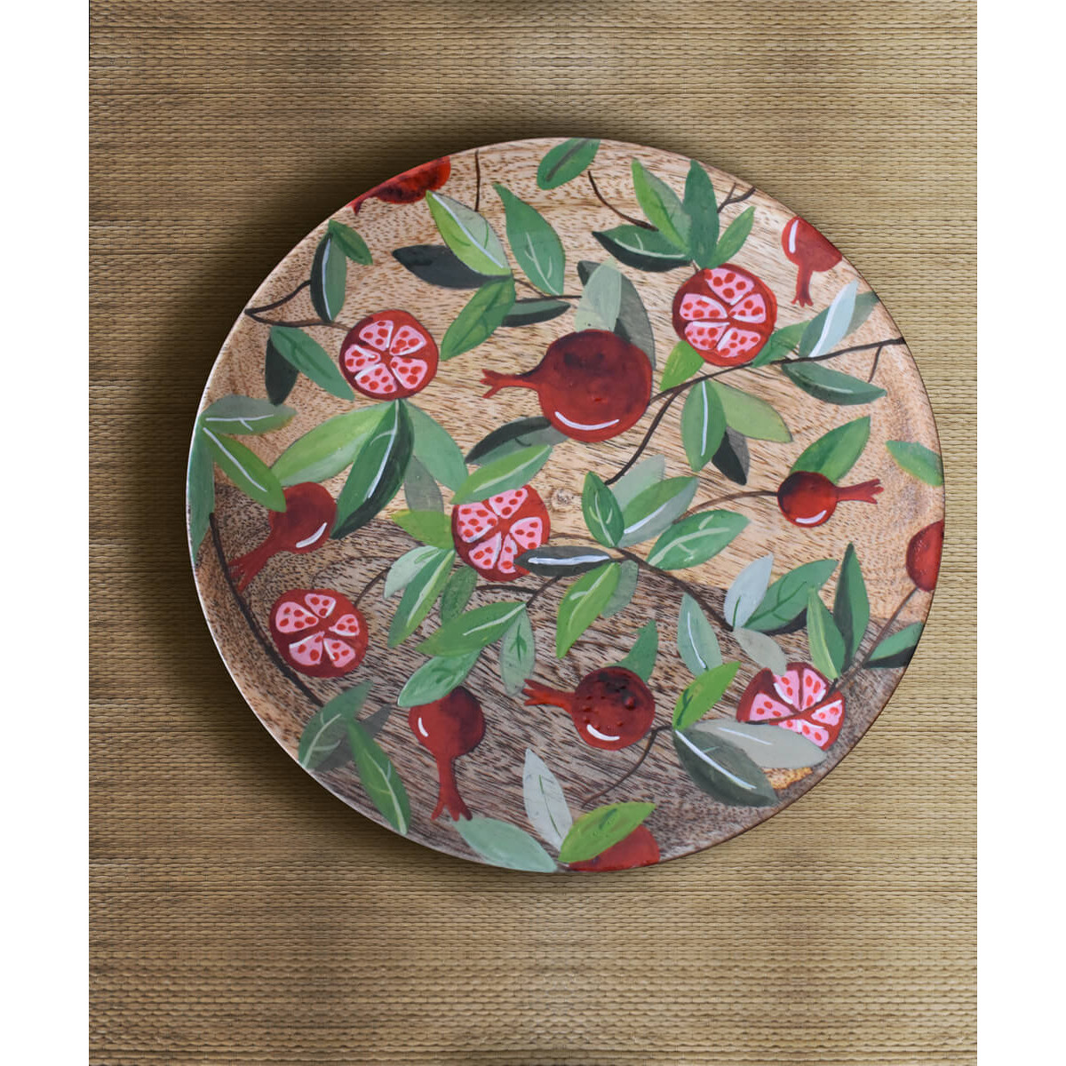 Fruit_Of_Summer_Wall_Plate--Tangy Tinge-2236
