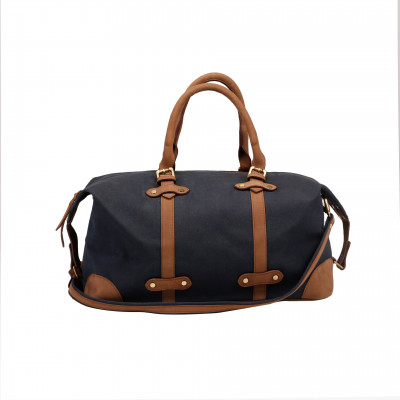 The_Weekender_Duffel:_Blue_and_Brown-Bags and Overnighters-Brandless-1389