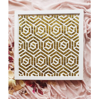 The_'Golden_Maze'_Wall_Accent_-Mirrors And Wall Accents-Neter-2353