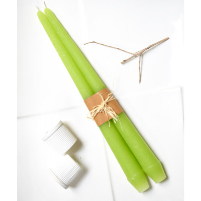 Greenery_Taper_Candles-Candles-Auro Candles-1562