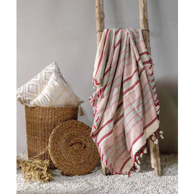 Herringbone_Stripe_Throw-Dohars, Quilts and Throws-Logam-4089