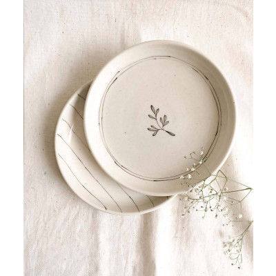 Stripe_and_Lily_Tapas_Plates_(Set_of_2_)-Tableware-Minimal Indian-4297