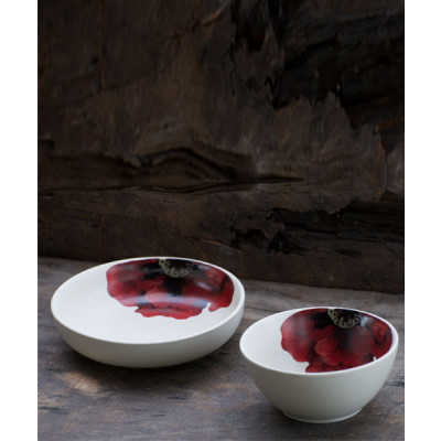 Scarlet_Meal_Bowl_and_Scarlet_Shallow_Bowl_set_of_1-Tableware-White Hill Studio-2056
