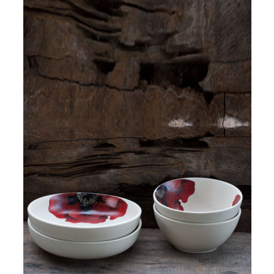 Scarlet_Meal_Bowl_and_Scarlet_Shallow_Bowl_set_of_2-Tableware-White Hill Studio-2058