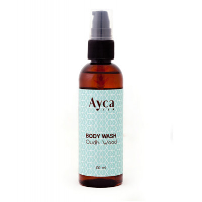 Oudh_Wood_Body_Wash_Travel_Size-Skincare Products for Travel-Ayca-1738