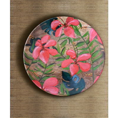 Tropical_Hibiscus_Wall_Plate-Decor-Tangy Tinge-2234