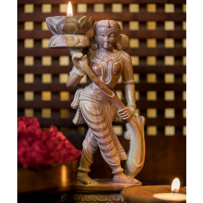 The_Celestial_Nymph_Light-Candle Stands and Tea Light Holders-Karu-Handcrafted Luxury-2195