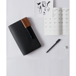THE_INFINITE_BOOK_BLACK-Notebooks, Journals and Planners-Beatroot-2636