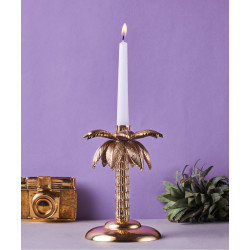 Tropical_Palm_Candle_Stand-Candle Stands and Tea Light Holders-Topp Brass-3097