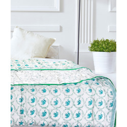 Polka_Elephant_A/C_Quilt-Gifts for you-Auruhfy-1611