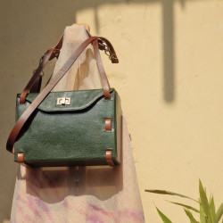 Luna_Emerald_Green_Box_Bag-Bags-The Bicyclist-1812