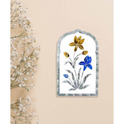Lilly_Thikri_Multi_Colour_Wall_Accent-Mirrors And Wall Accents-Minisha Designs-4201