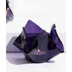Crumpled_Votive:_Purple-Candle Stands and Tea Light Holders-Glass Forest-3998
