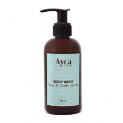 Oudh_Wood_&_Rose_Body_Wash-For Her-Ayca-1714